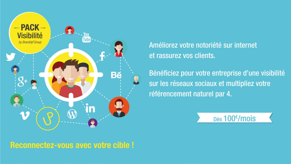 Pack PME Visibilité By BrandUp™